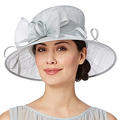 Hatbox - Pale blue oversized bow hat