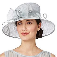 Hatbox - Pale blue oversized bow hat