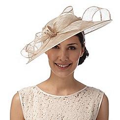Hatbox - Gold embellished bow hat fascinator