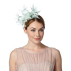 Star by Julien Macdonald - Designer light green daisy floral fascinator