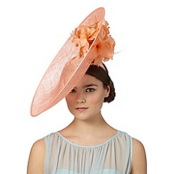 Star by Julien Macdonald - Designer peach flower saucer hair piece