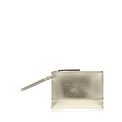 Star by Julien MacDonald - Designer gold shimmer clutch bag
