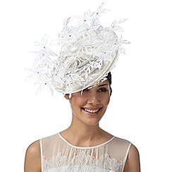 Star by Julien MacDonald - Designer white daisy hat