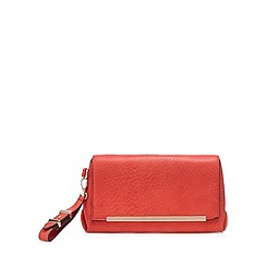 Principles by Ben de Lisi - Designer red logo clutch