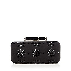 Principles by Ben de Lisi - Designer black sequin rod clutch bag