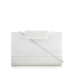 No. 1 Jenny Packham - Designer ivory mother of pearl clutch bag