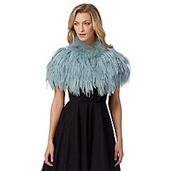 No. 1 Jenny Packham - Designer light green feather shrug