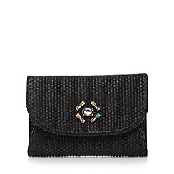 Top Hat by Stephen Jones - Designer black gem clutch bag