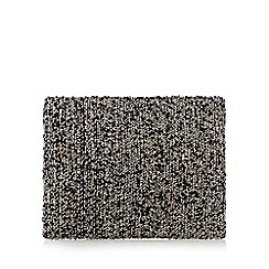 J by Jasper Conran - Natural beaded clutch bag