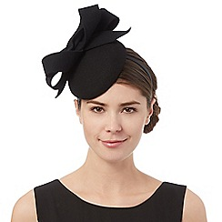J by Jasper Conran - Black wool looped fascinator