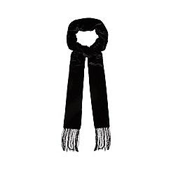 J by Jasper Conran - Black velvet scarf