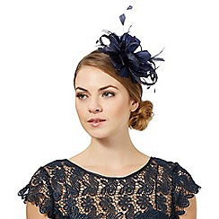 Principles by Ben de Lisi - Navy loop and feather hair band