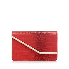 Top Hat by Stephen Jones - Red ombre clutch bag