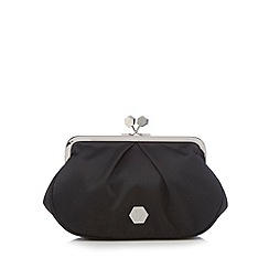 Top Hat by Stephen Jones - Black pearl clutch bag