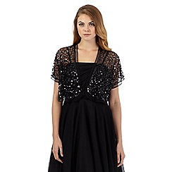Debut - Black sequinned shrug