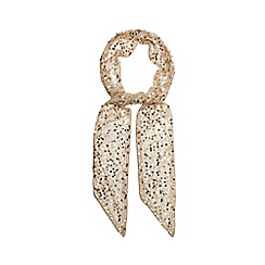 Debut - Gold sequin scarf