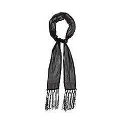 Debut - Black beaded scarf