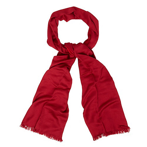 Debut - Dark red reversible pashmina