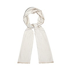 Debut - Ivory reversible pashmina