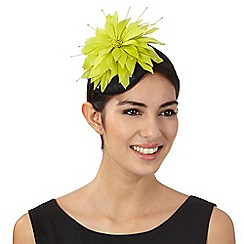 Star by Julien Macdonald - Lime flower fascinator