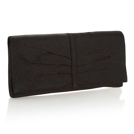 Debut - Black organza clutch bag