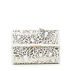 Star by Julien Macdonald - White cut-out butterfly clutch bag