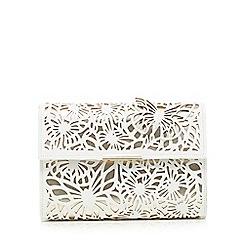Star by Julien Macdonald - White cut-out butterfly clutch bag