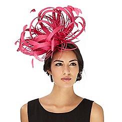 Star by Julien Macdonald - Pink feather fascinator