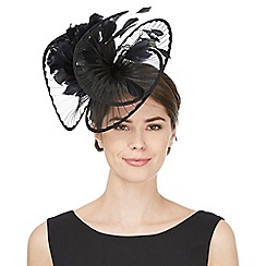 Star by Julien Macdonald - Black pleated twist flower hair band