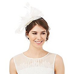 J by Jasper Conran - Windowpane bow fascinator