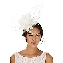 J by Jasper Conran - Ivory feather fascinator