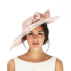 J by Jasper Conran - Pink flower saucer fascinator