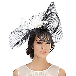 J by Jasper Conran - Black feather swoop fascinator