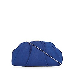 Principles by Ben de Lisi - Blue dome clutch bag