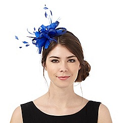 Principles by Ben de Lisi - Blue feather fascinator