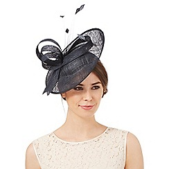 Principles by Ben de Lisi - Navy mini saucer fascinator