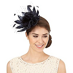 Principles by Ben de Lisi - Navy net flower fascinator