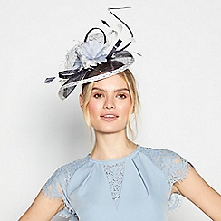 Principles by Ben de Lisi - Navy flower band fascinator
