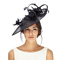 Principles by Ben de Lisi - Navy flower effect fascinator