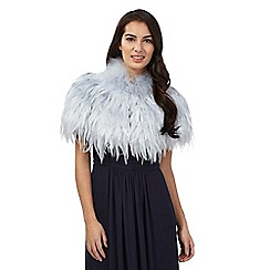 No. 1 Jenny Packham - Light blue feather shrug