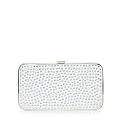 No. 1 Jenny Packham - Ivory studded clutch bag