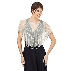 No. 1 Jenny Packham - Ivory beaded cape