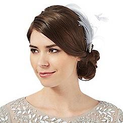 No. 1 Jenny Packham - Blue diamante feather hair clip