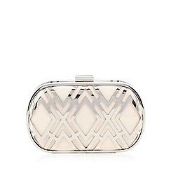 No. 1 Jenny Packham - Pink cut-out clutch bag