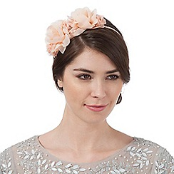 No. 1 Jenny Packham - Light peach flower headband