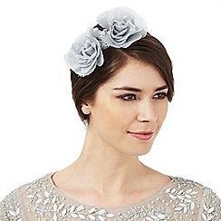 No. 1 Jenny Packham - Grey flower headband