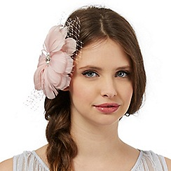 Floozie by Frost French - Light pink flower net hair clip