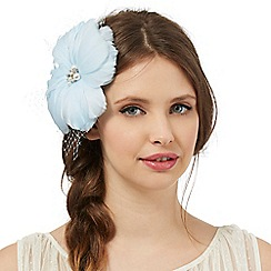 Floozie by Frost French - Light blue flower net hair clip