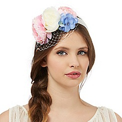 Floozie by Frost French - Pink flower net headband