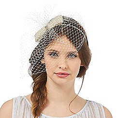 Floozie by Frost French - Ivory pearl bow headband